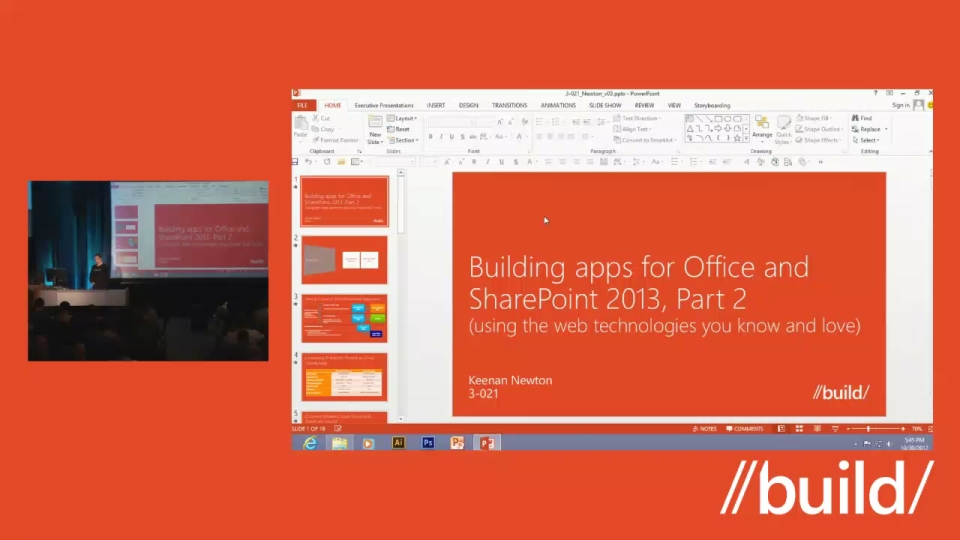 Building apps for Office and SharePoint 2013 using the web technologies you know and love, Part 2
