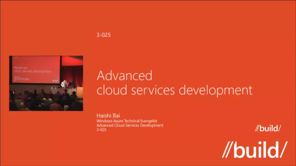 Advanced Cloud Services Development