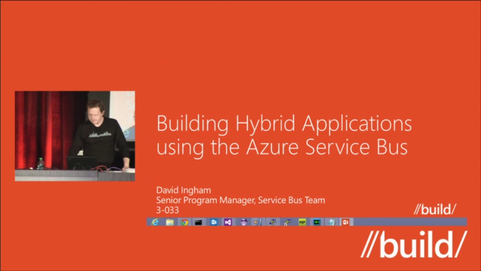Building Hybrid Applications using the Windows Azure Service Bus