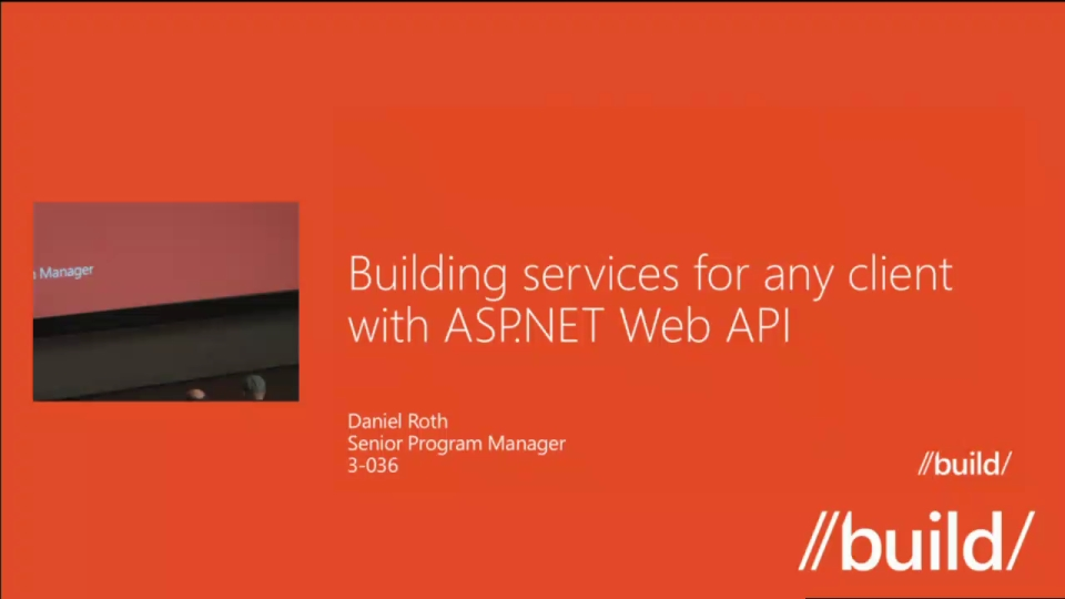 Building Services for Any Client with ASP.NET Web API