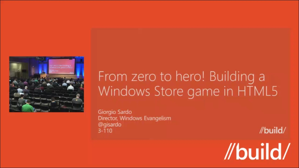 From zero to hero! Building a Windows Store game in HTML5