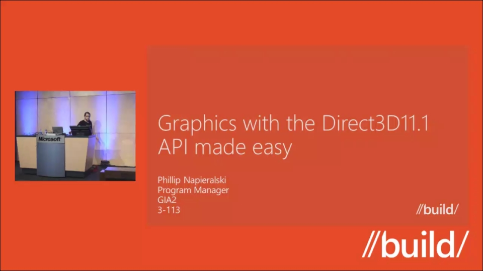 Graphics with the Direct3D11.1 API made easy