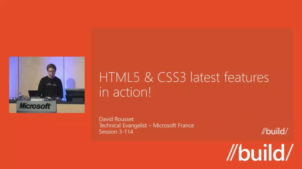 HTML5 & CSS3 latest features in action!