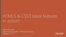 HTML5 & CSS3 latest features in action! (Repeat)