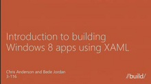 Introduction to creating Windows Store apps using XAML