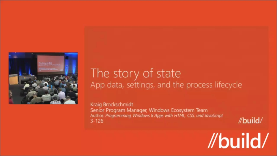 The story of state: AppData, settings, and the process lifecycle