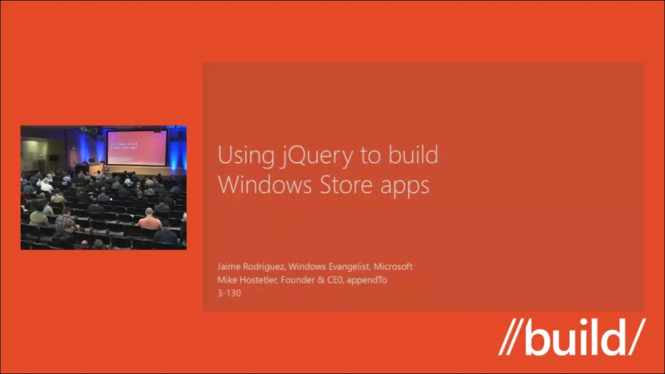 Writing Windows Store apps with jQuery