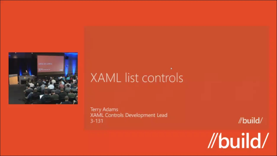 XAML list controls