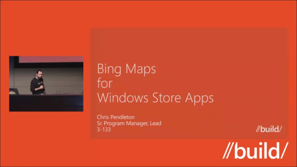 Bing Maps for Windows apps