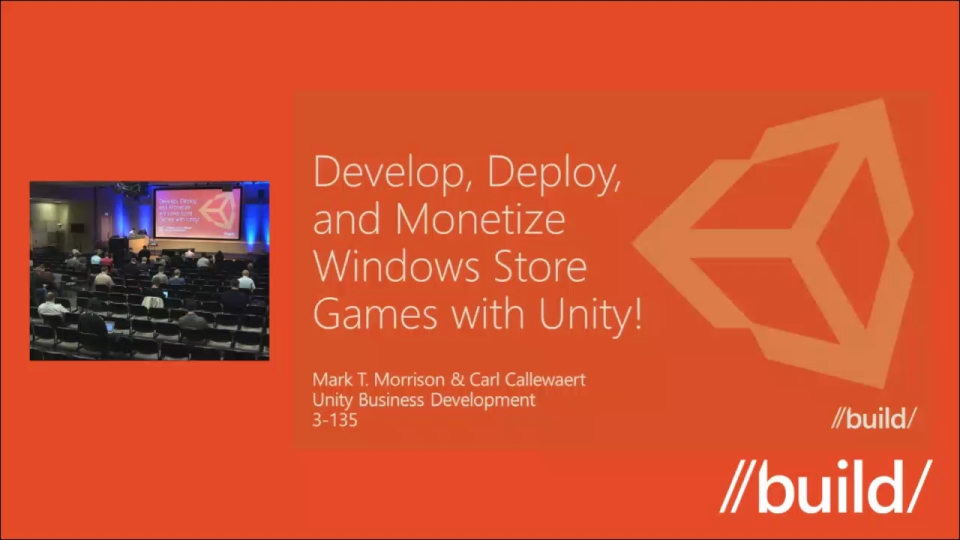 Developing, deploying, and monetizing Windows Store games with Unity