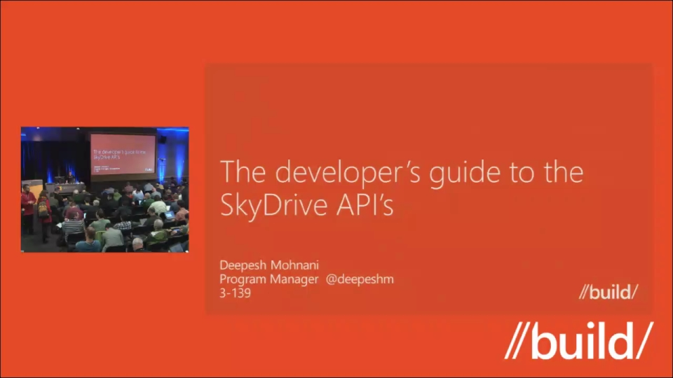 The developer's guide to the SkyDrive API