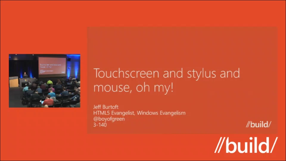 Touchscreen and stylus and mouse, oh my!