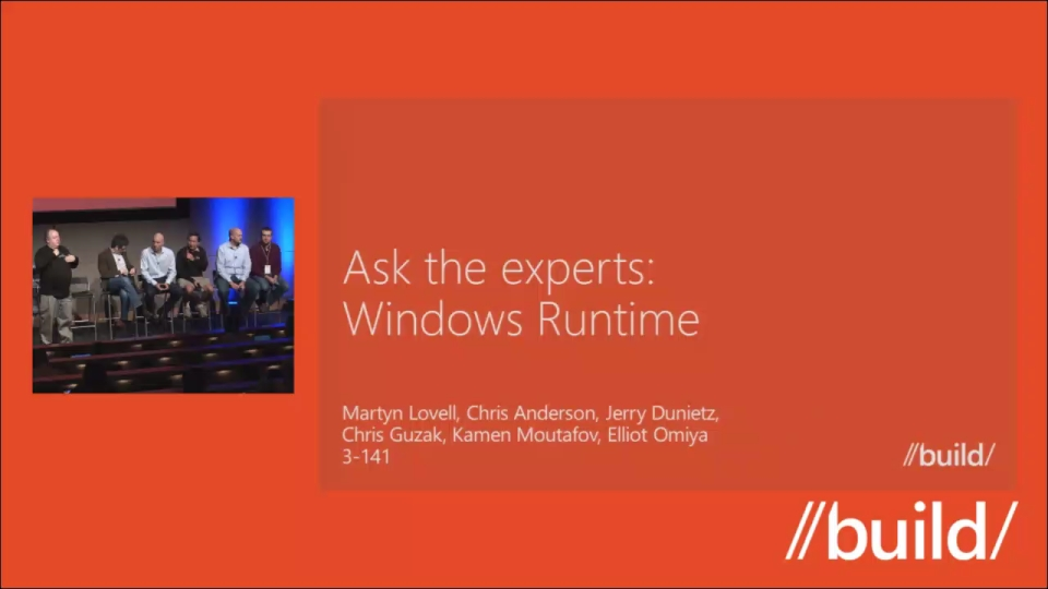 The Windows Runtime Q&A