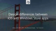 Design Differences Between iOS and Windows 8