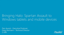 Bringing Halo: Spartan Assault to Windows Tablets and Mobile Devices