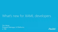 What's New in XAML