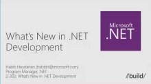 What's New in .NET Development