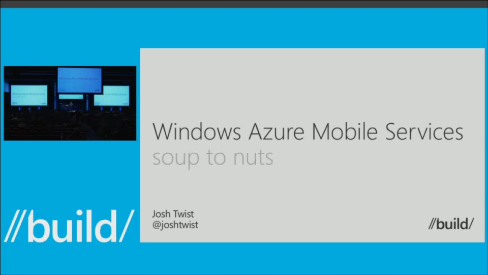 Mobile Services - Soup to Nuts