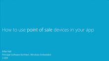 How to Use Point-of-Sale Devices in Your App