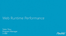 Web Runtime Performance