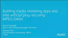 Building Media Streaming Apps and Sites Without Plug-Ins Using MPEG-DASH