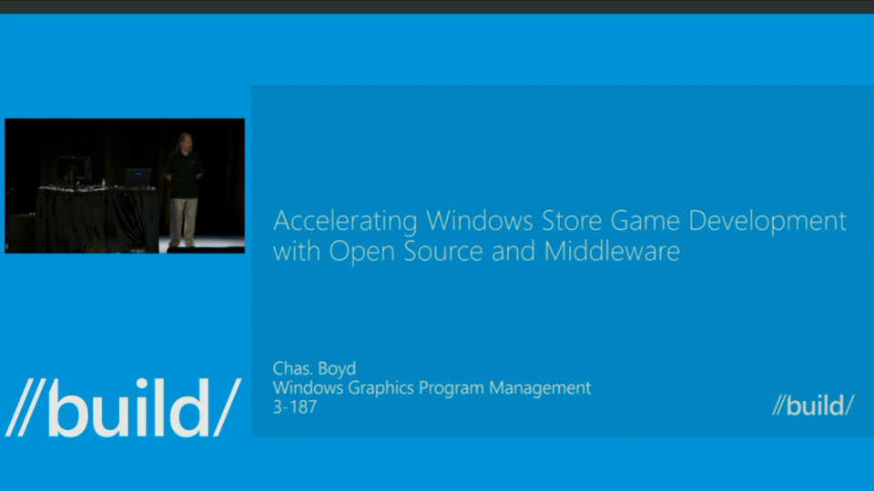 Accelerating Windows Store Game Development with Middleware