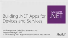 Building .NET Applications for Devices and Services
