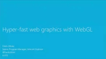 Hyper-Fast Web Graphics with WebGL