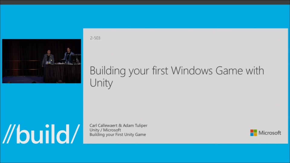 Building Your First Windows Game with Unity