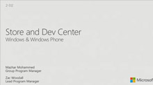 Windows Phone and Windows: Store and Dev Center
