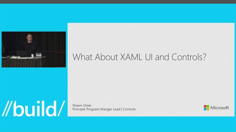 What about XAML UI and Controls?