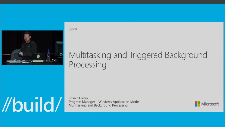 Multitasking and Triggered Background Tasks for Windows Phone Apps