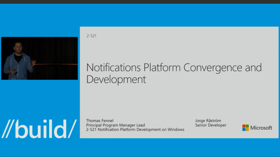 Notification Platform Development on Windows