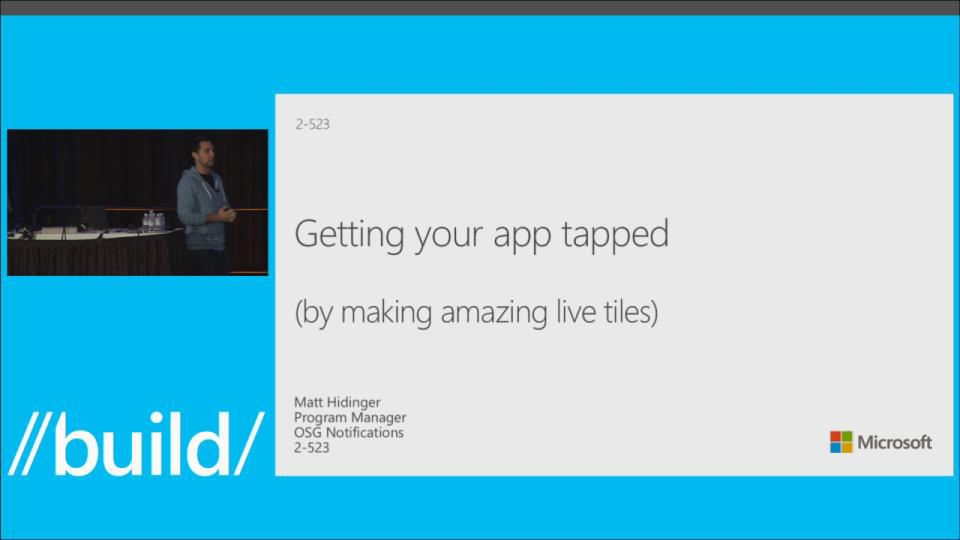 Live Tiles Enhancements
