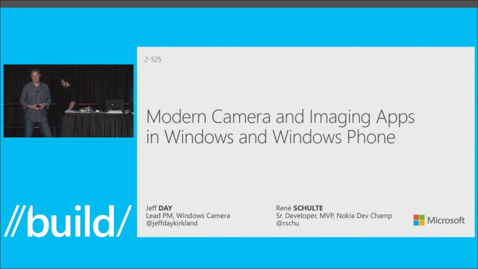 Modern Camera and Imaging Apps in Windows and Windows Phone