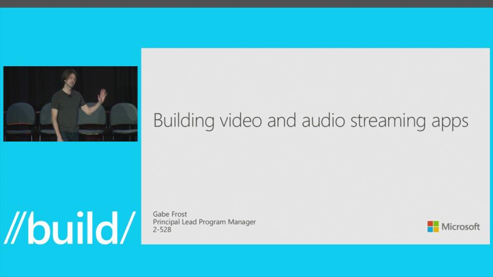 Building Video and Audio Streaming Apps