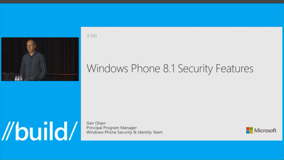 New Security Features for Windows Phone