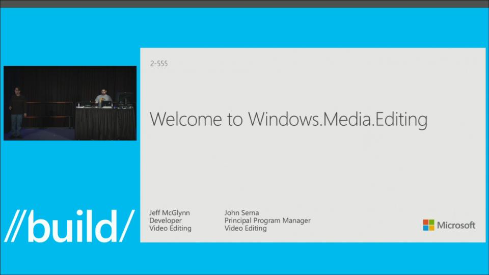 The New Video Editing APIs for Windows Phone: Windows.Media.Editing