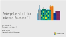 Better App Compat with Enterprise Mode for Internet Explorer 11