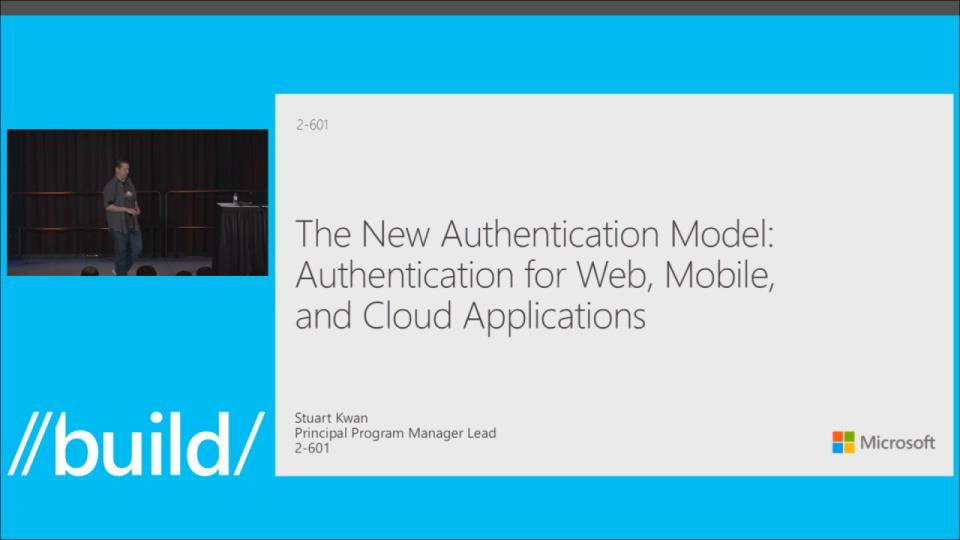 The New Authentication Model for Web, Mobile, and Cloud Applications