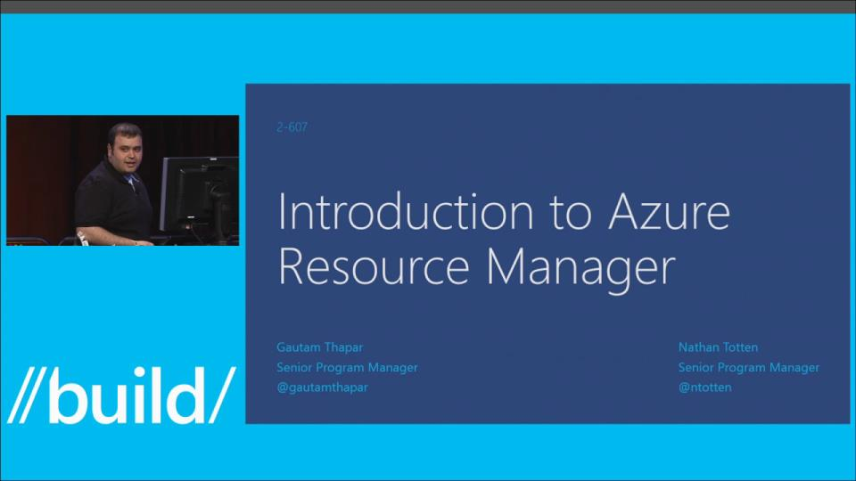 Azure Resource Group Model: Modern Management for Modern Cloud