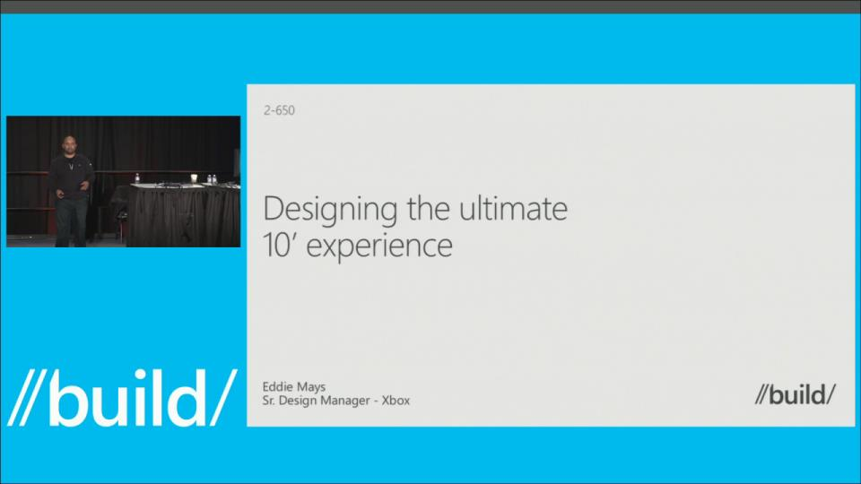 Designing the Ultimate 10' Experience