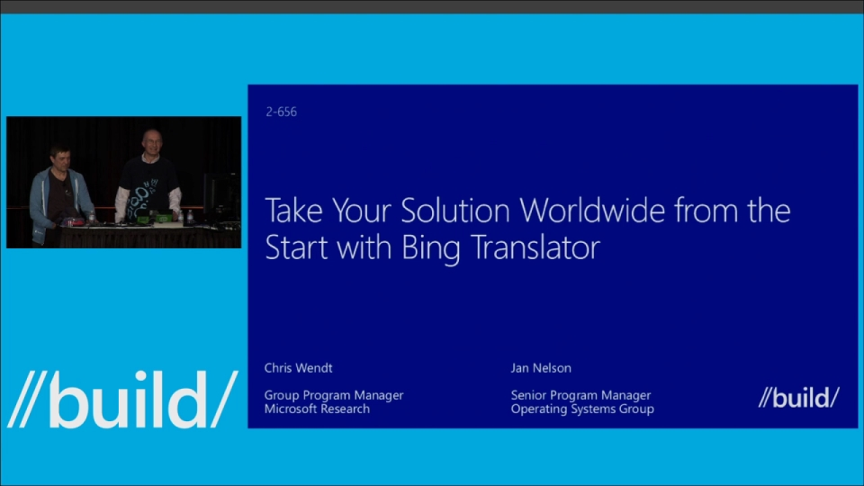 Take Your Solution Worldwide from the Start with Bing Translator