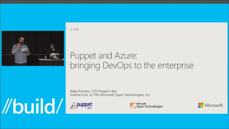 Puppet and Azure: Bringing DevOps to the Enterprise