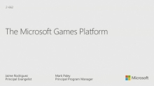 Building Games for Windows