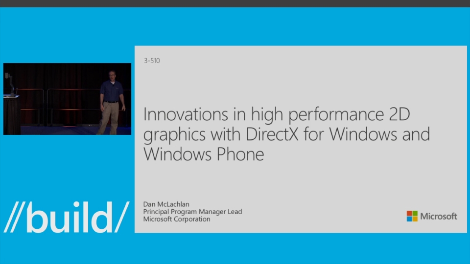 Innovations in High Performance 2D Graphics with DirectX Across Windows and Windows Phone