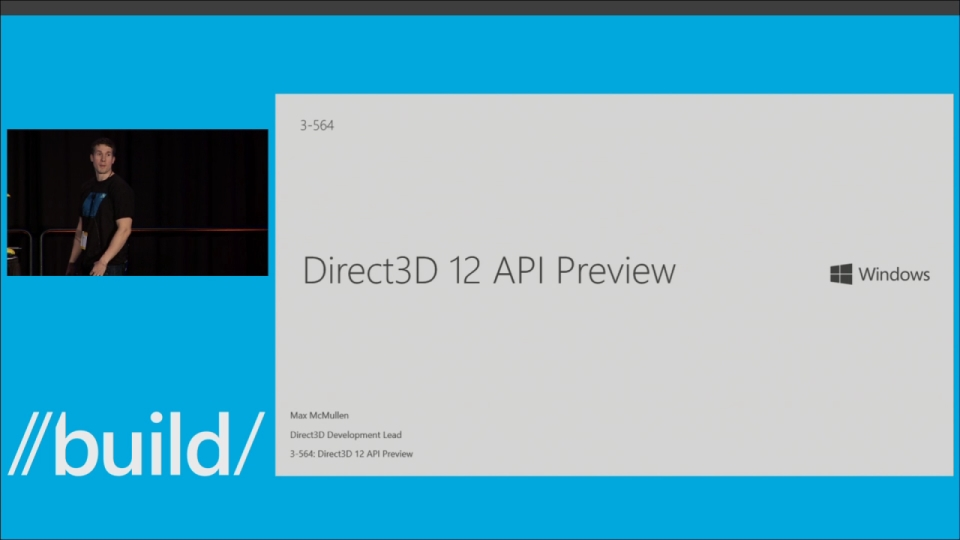 Direct3D 12 API Preview