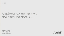 Captivate Consumers with the OneNote API