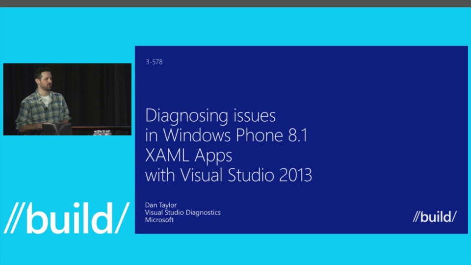 Diagnosing Issues in Windows Phone XAML Apps Using Visual Studio