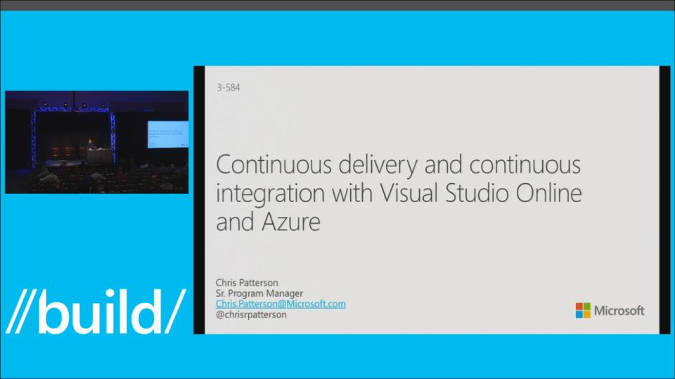 Continuous Delivery and Continuous Integration with Visual Studio Online and Microsoft Azure